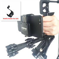 Compound Bow Smartphone Mount Camera Mobilephone Holder PSE HOYT Arrow Shooting