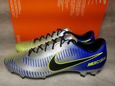 New Nike Mercurial Veloce III Neymar FG Men Size 10 Chrome Blue Soccer Cleat