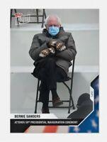 Bernie Sanders Mittens Meme Joe Biden Inauguration Card 2020 Topps USA Election