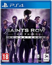 Saints Row The Third 3 Remastered | PlayStation 4 PS4 New