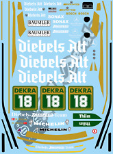 1/10 Touring Car Decal Set DTM Mercedes 190E - Diebels Alt - Tamiya Schumacher