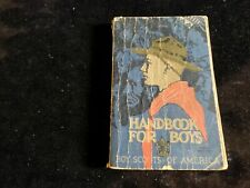 32.  Boy Scout 1936 Handbook Norman Rockwell Cover