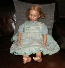 """Vintage Annette Himstedt Barefoot Children Collection Kathe Doll 27"""""""