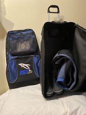 Ist Proline Rolling Sea suitcase Scuba Snorkel w/ detachable dive gear backpack