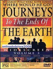 JOURNEYS to the ENDS of EARTH (VOL.3) David Adams Doco (2DVD SET) NEW SEALD Reg4