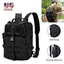 Fishing Tackle Storage Bag Shoulder Backpack/Tactical sling bag Cross Body Us