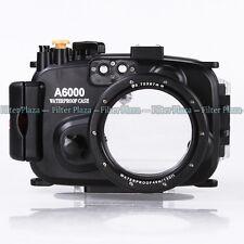 40M Waterproof Underwater Camera Housing Hard Case for Sony A6000 & 16-50mm Lens