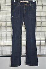 "Fox Denim Black Jeans Boot Cut Pants Inseam 31"" Size 34Europe/2US On Sale df"