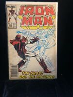 Iron Man #219 1st Appearance of the Ghost . Key Issue Marvel Comics