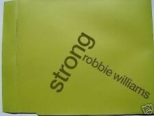 ROBBIE WILLIAMS STRONG PROMO CD