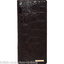 DSQUARED2 DS2 Dark Brown Leather Vertical Wallet Purse BNWT