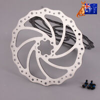 ZOOM 160/203mm MTB Bike Disc Brake Rotor Caliper Front Rear Steel 6 Bolts Brake