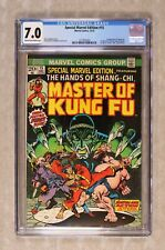 Special Marvel Edition 15 CGC 7.0  1st App. of Shang-Chi Marvel Comics 1973 C/OW