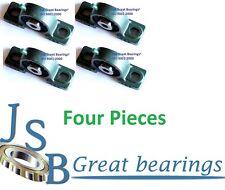 "(Qty. 4) 1/2"" UCP201-8 Quality self-align UCP201 Pillow block bearing ucp 201"