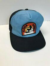 Vintage Aloha Hawaii Navy/Light Blue Snapback Mesh Trucker Hat New Era Pro