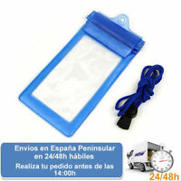 Funda impermeable agua telefonos moviles iphone android (Envio express)