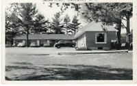 Rare RP GABLES MOTEL At Adirondacks Speculator New York NY w/ Autos RP Photo !