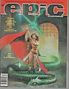 EPIC ILLUSTRATED magazine #27 Marvel Comics 1984