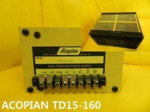 [Used] ACOPIAN / TD15-160 / Power Supply