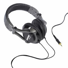 Shure SRH550DJ Professional Quality DJ Headphones.  U.S Authorized Dealer