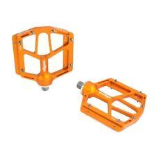 Wellgo B181 Flat Pedals Low Profile Design , Orange