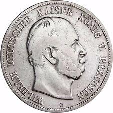 Jäger 97 - Preußen - 5 Mark Silber Wilhelm I 1874 - 1876 Münze in Münzkapsel