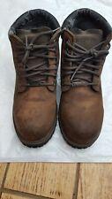 Sketchers mens boots brown size 13 walking boots waterproof