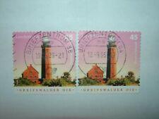 2004 GERMANY GREIFSWALDER OIE LIGHTHOUSE STAMPS x 2 VFU (sg3279)