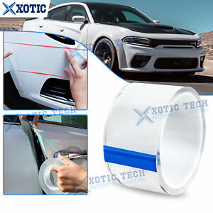 For Dodge Charger Ram Clear Car Body Protection Film DIY Decor Strip Sticker 3M
