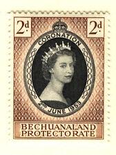 Elizabeth II (1952-Now) Single Bechuanaland Stamps (Pre-1966)