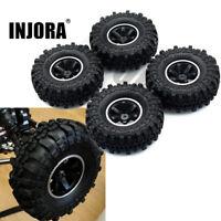 "4PCS 1.9"" Wheel Rim & Tire Tyre w/ foam for 1/10 RC Axial SCX10/ II CC01 D90"