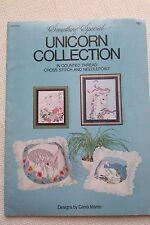 Unicorn Collection Cross Stitch Needlepoint Craft Booklet By Candi Martin
