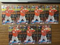 2018 Topps Chrome Update 7x Card Lot SHOHEI OHTANI ROOKIE Debut LA Angels HMT32