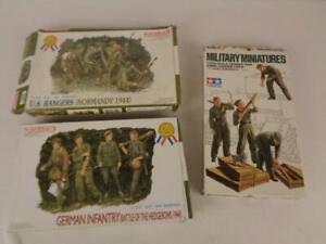 Tamiya & Dragon 1/35 Military Figures- US 6021- German 6025- Tank Loading 35188