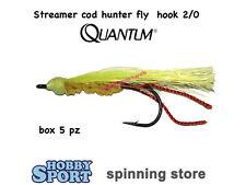 Quantum Cód Hunter Fly 2/0 Streamer para Mar Lago Río 4290023