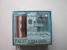 Relé de impresión Finder 40.31 250 V DC/12A/3, 5mm/1