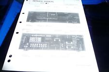 Service Manual for Kenwood KR-V6040, Original