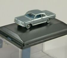 1963 CHEVROLET CORVAIR COUPE in Silver 1/87 scale model OXFORD DIECAST