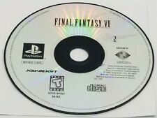 DISC #2: Final Fantasy VII (Sony PlayStation, 1997) GREATEST HITS REPLACEMENT