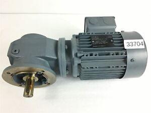 KEB 0,12 Kw 20 Min Gear Motor S02CV DL63K4 Gearbox