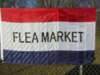 3'x5' Flea Market Message Flag Outdoor Banner Huge Business Advertising Sign