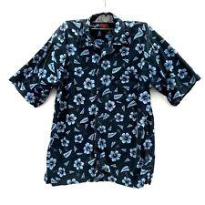 Burton Menswear Shirt UK M Euro 3 Holiday Beach Casual Party collared button vgc