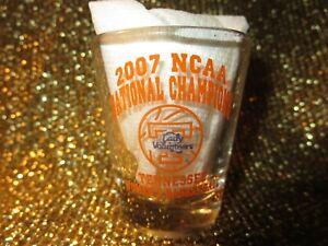 Tennessee Lady Vols 2007 NCAA Womens Basektball Champs Shot Glass Glassess NEW