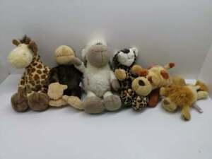 Nici Lion King collection Sheep Dog Leopard Giraffe Monkey plush soft toys