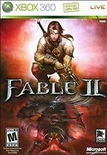 Fable II (Microsoft Xbox 360, 2008 LikeNew) Complete  w/ Manual **Free Shipping!