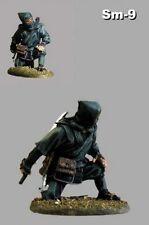 Action Figure Shinobi 1/32 Ninja with Katana Hand Painted Toy Tin Soldier 54mm