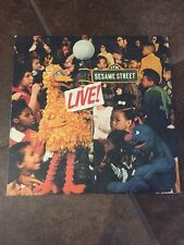 1973 Sesame Street LIVE Columbia Orig Cast LP Record KC 32343 Fold-Out 1A/1C