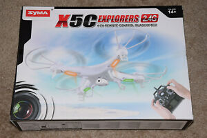 Syma X5c Explorers 2.4g 4ch 6 Axis Gyro RC Quadcopter Drone With HD Camera Newww