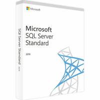 SQL Server 2019 Standard Product Key License Download 30 SECs DELIVERY