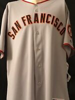 San Francisco Giants Authentic Majestic Away Jersey with 2010 All Star Patch